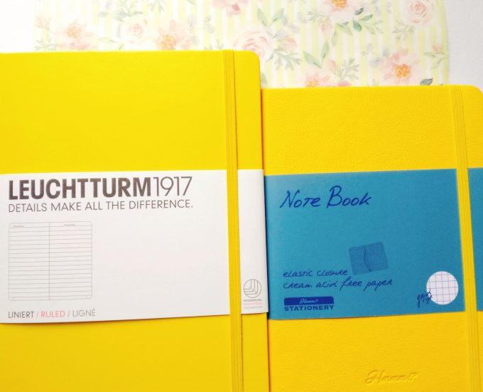 すばやく目的のページにたどり着けるハードカバーノート「ロイヒトトゥルムノート」