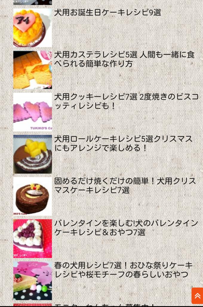 犬用ケーキ 犬のおやつ363レシピ