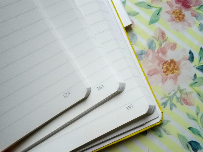 検索性を求めてページ番号つきのノートや手帳を探す!